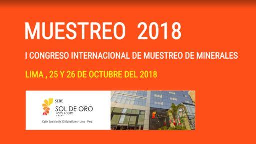 1er Congreso Internacional de Muestreo de Minerales